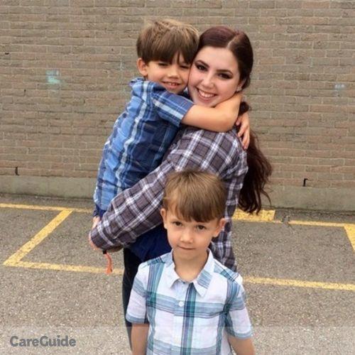 Canadian Nanny Provider Maddy P's Profile Picture
