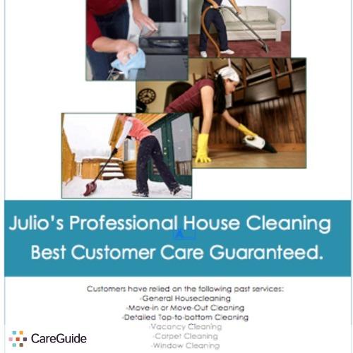 Housekeeper Provider Julio Galvan's Profile Picture