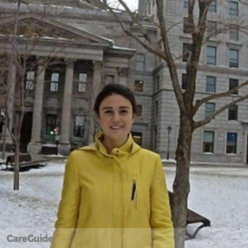 Canadian Nanny Provider Andrea De la Maza's Profile Picture