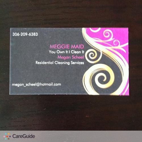 Housekeeper Provider Megan S's Profile Picture