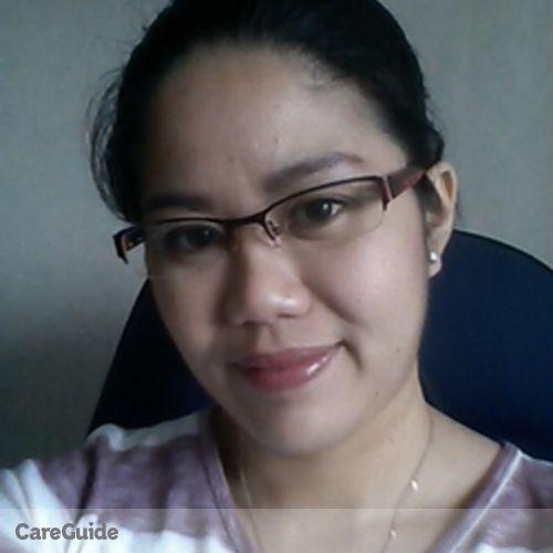 Canadian Nanny Provider Wendy De La Cruz's Profile Picture