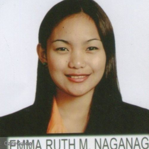 Canadian Nanny Provider Emma Ruth Naganag's Profile Picture