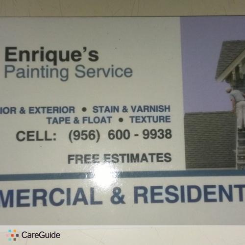 Painter Provider Enrique Palomares's Profile Picture