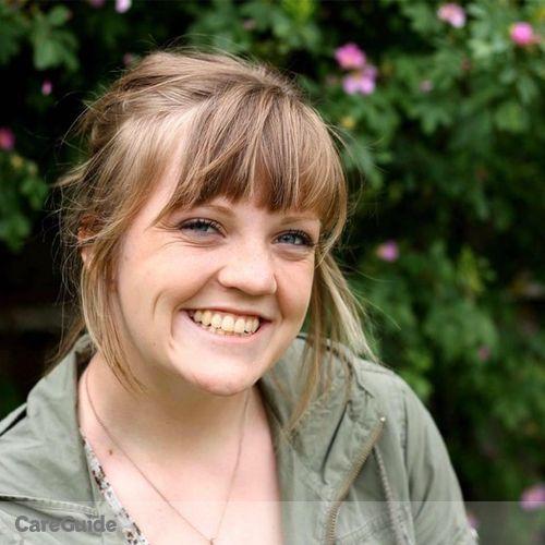 Canadian Nanny Provider Sophia Down's Profile Picture