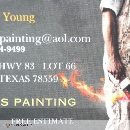 Painter Provider Wesley Y's Profile Picture