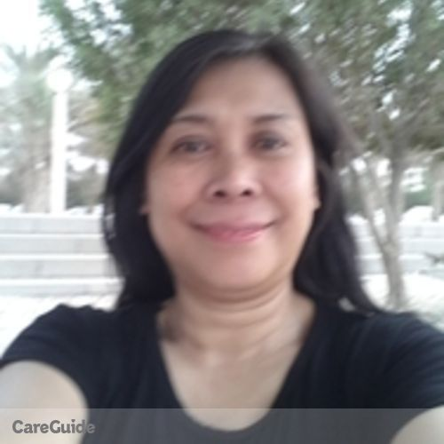 Canadian Nanny Provider Mercita Camayang's Profile Picture