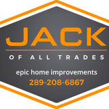 Jack of All Trades. Professional, trustworthy and hardworking handyman and home renovation services.
