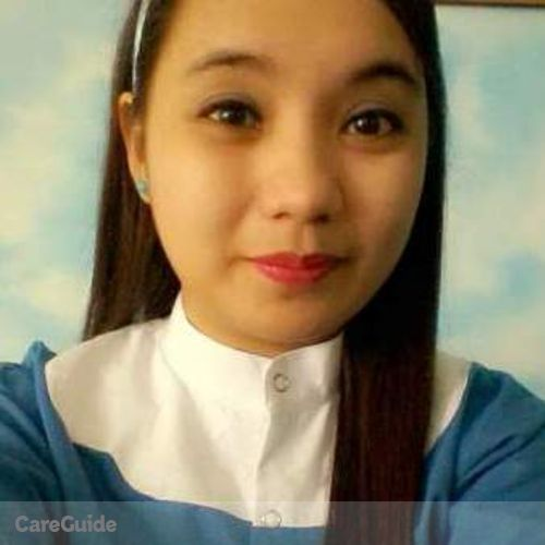 Canadian Nanny Provider Christine Marie Pulumbarit's Profile Picture