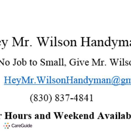 Handyman Provider Travis Wilson's Profile Picture