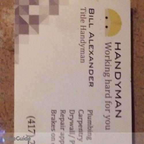 Handyman Provider William Alexander's Profile Picture
