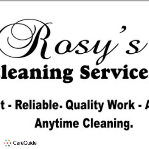 Housekeeper Provider Rosy Medina's Profile Picture