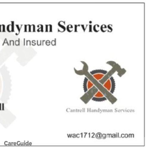 Handyman Provider Austin Cantrell's Profile Picture