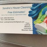 Sandra house cleaning