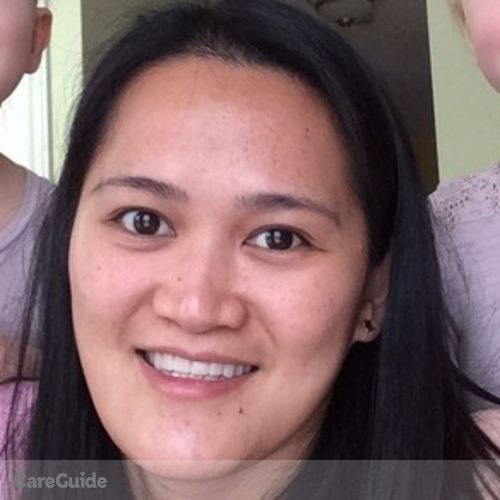 Canadian Nanny Provider Mary Grace Gutoman's Profile Picture