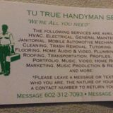 TuTrue Handyman Services 24-hour Valley area service