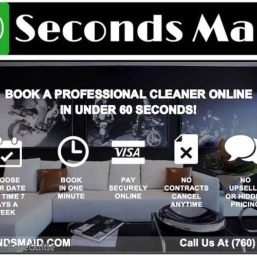 Housekeeper Provider 60 Seconds Maid's Profile Picture