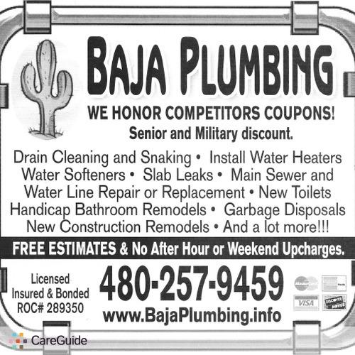 Plumber Provider Baja Plumbing's Profile Picture