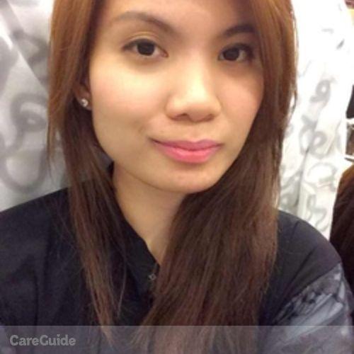Canadian Nanny Provider Ivy Camille Rimando's Profile Picture
