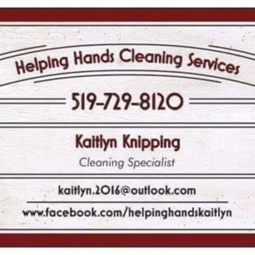 Housekeeper Provider Kaitlyn Knipping's Profile Picture