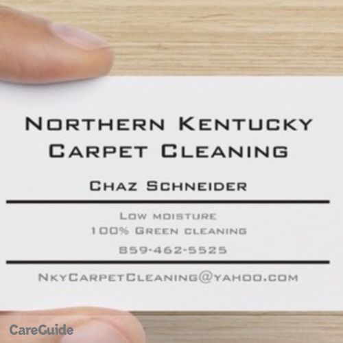 Housekeeper Provider NkyCarpetCleaning Chaz's Profile Picture