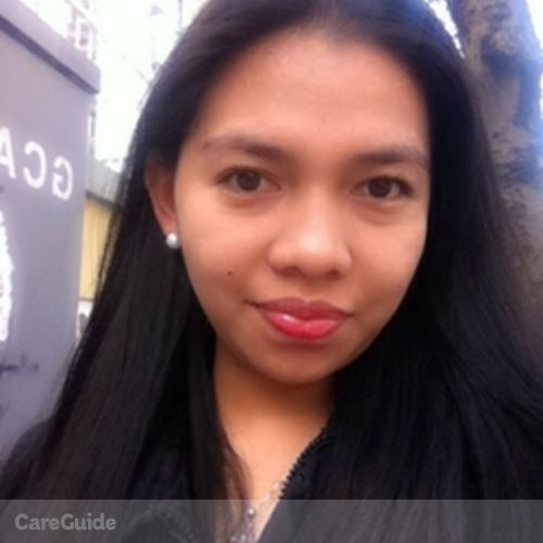Canadian Nanny Provider Jenefir Quintana's Profile Picture