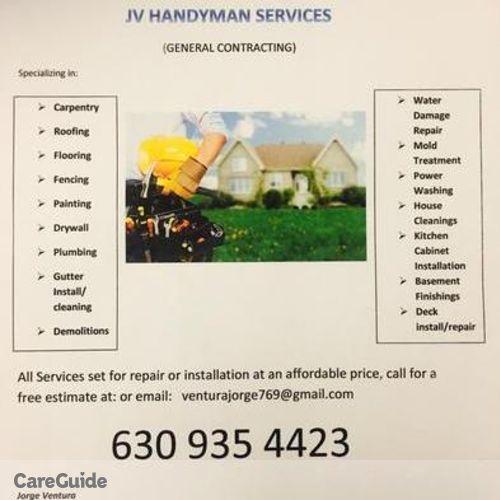 Handyman Provider Jorge V's Profile Picture