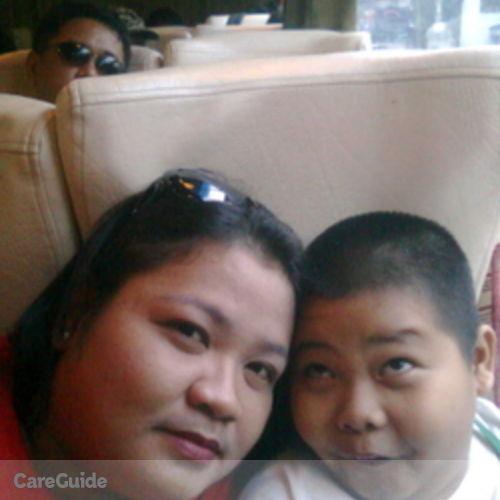 Canadian Nanny Provider Sheila Marie Aragon's Profile Picture