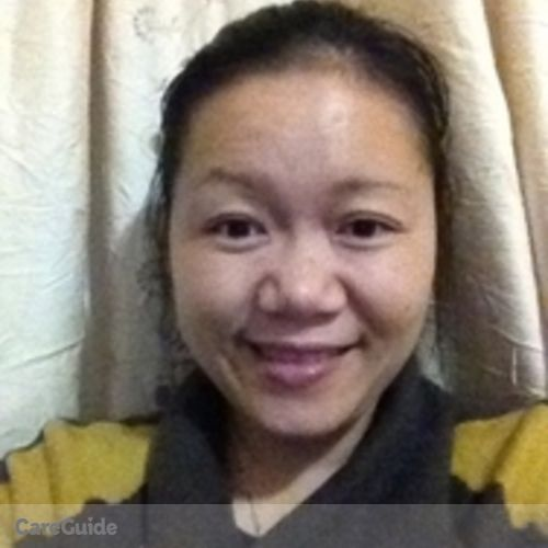 Canadian Nanny Provider Linda Wang's Profile Picture