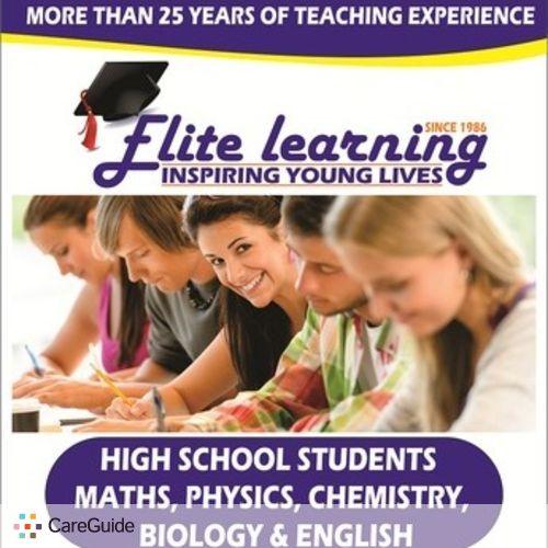 Tutor Job Elite Learning Centre's Profile Picture