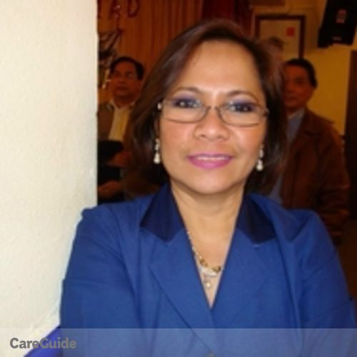 Canadian Nanny Provider Rosario Alivio's Profile Picture