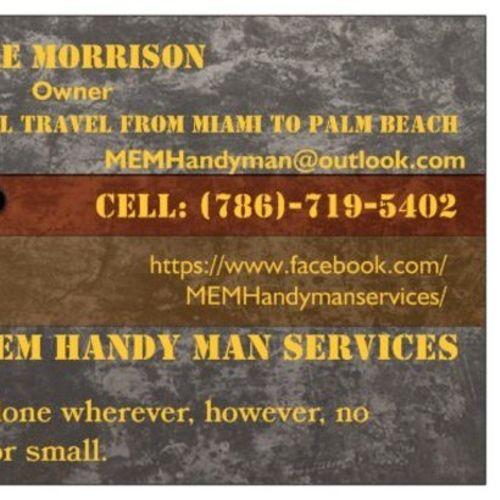 Handyman Provider Mike Morrison's Profile Picture