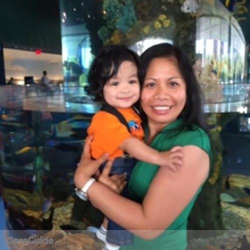Canadian Nanny Provider Arlene Coloma's Profile Picture