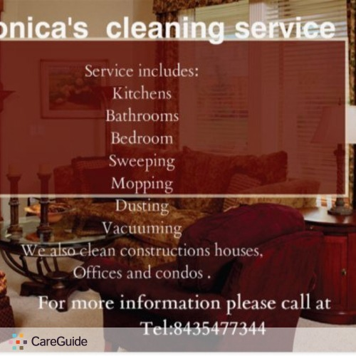 Housekeeper Provider Monica R's Profile Picture