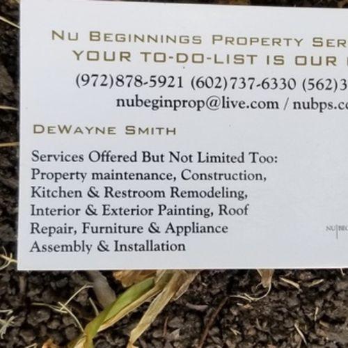 Handyman Provider DeWayne S's Profile Picture