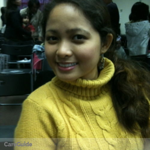 Canadian Nanny Provider Veronica B's Profile Picture