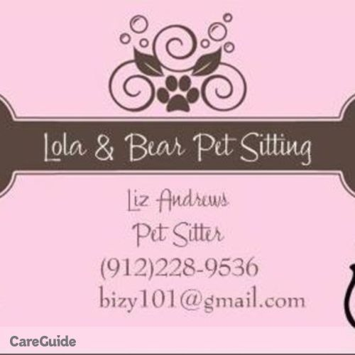 Pet Care Provider Liz Andrews's Profile Picture