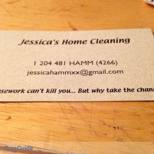 Pet Care Provider Jessica Hamm's Profile Picture