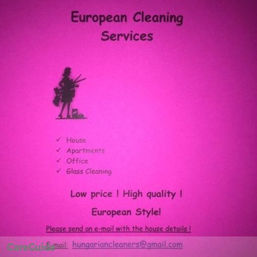 Housekeeper Provider Alexandra C's Profile Picture