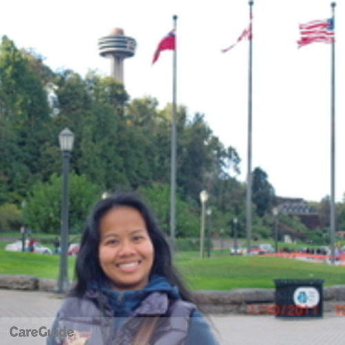 Canadian Nanny Provider Ligaya Cuenca's Profile Picture