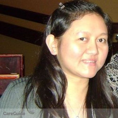 Canadian Nanny Provider Nikki Noreen Partosa's Profile Picture