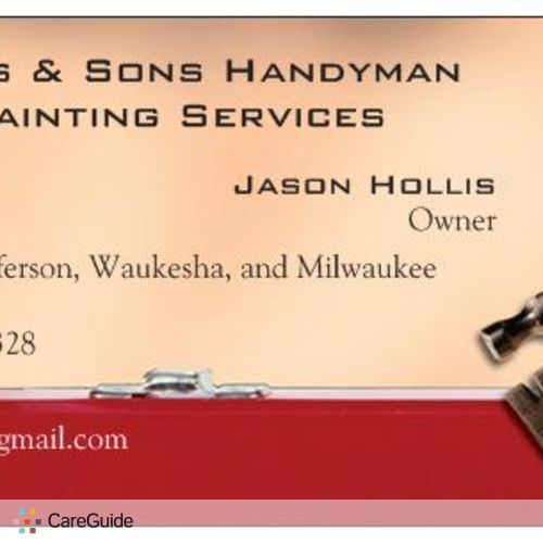 Handyman Provider Jason Hollis's Profile Picture