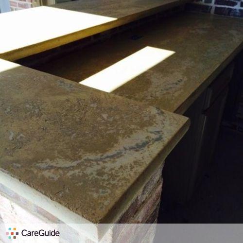Kyle D Beautiful Custom Concrete Countertops