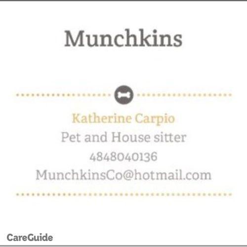 Pet Care Provider Katherine Carpio's Profile Picture