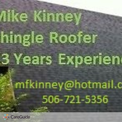 Roofer Provider Mike K's Profile Picture
