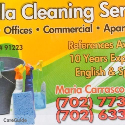 Housekeeper Provider Maria R's Profile Picture