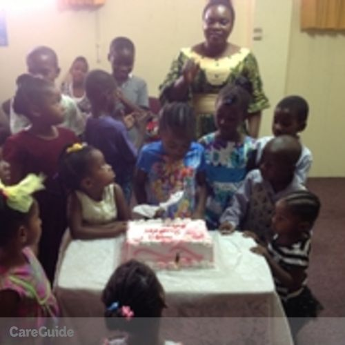 Canadian Nanny Provider Onasanwo Esther's Profile Picture