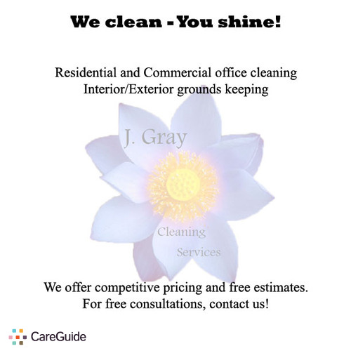 Housekeeper Provider Cornelius Gray's Profile Picture