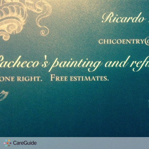 Painter Provider Ricardo Pacheco's Profile Picture