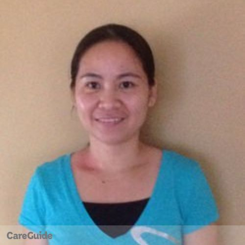 Canadian Nanny Provider Nelia Honghong's Profile Picture