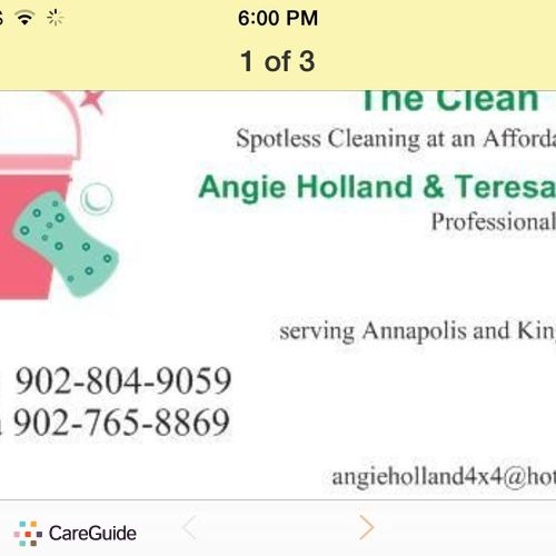 Housekeeper Provider Angie Holland's Profile Picture